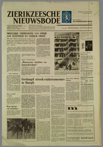 Zierikzeesche Nieuwsbode 1973-12-31