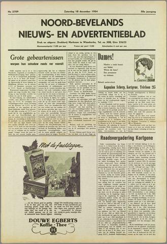 Noord-Bevelands Nieuws- en advertentieblad 1954-12-18