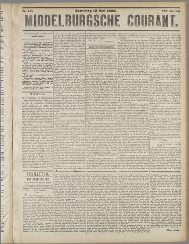 Middelburgsche Courant 1922-05-13