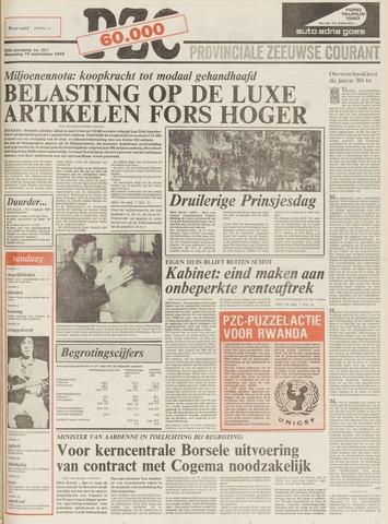Provinciale Zeeuwse Courant 1979-09-19