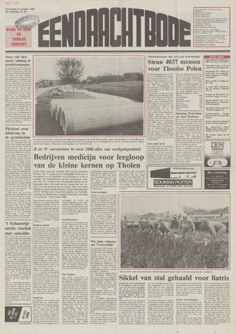 Eendrachtbode (1945-heden)/Mededeelingenblad voor het eiland Tholen (1944/45) 1989-10-12