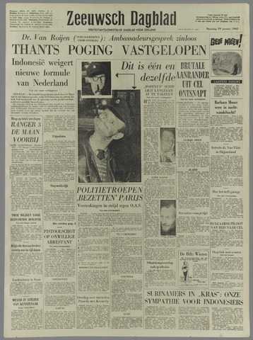 Zeeuwsch Dagblad 1962-01-29