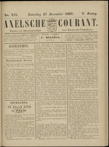 Axelsche Courant 1887-12-17