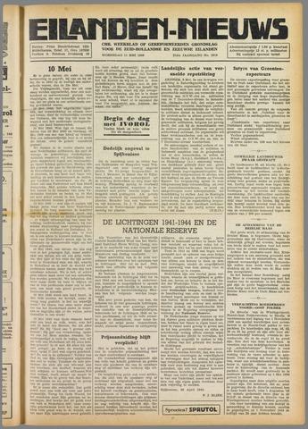 Eilanden-nieuws. Christelijk streekblad op gereformeerde grondslag 1949-05-11