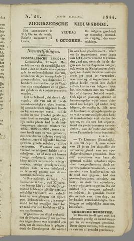 Zierikzeesche Nieuwsbode 1844-10-04
