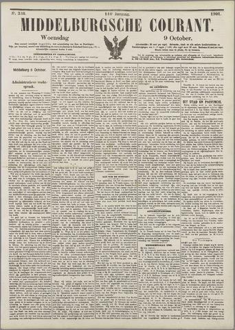 Middelburgsche Courant 1901-10-09
