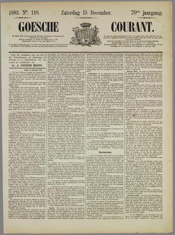 Goessche Courant 1883-12-15