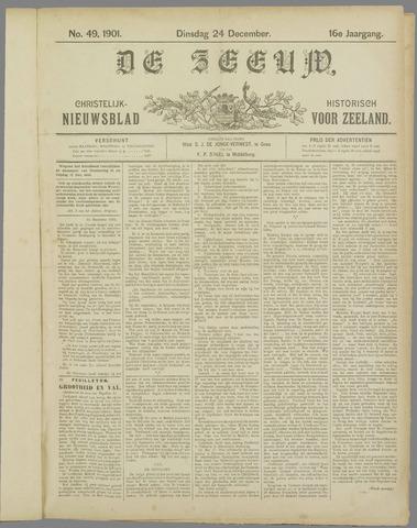 De Zeeuw. Christelijk-historisch nieuwsblad voor Zeeland 1901-12-24