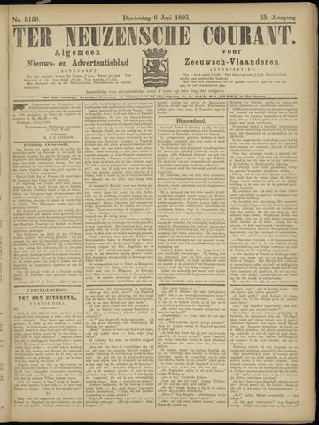 Ter Neuzensche Courant. Algemeen Nieuws- en Advertentieblad voor Zeeuwsch-Vlaanderen / Neuzensche Courant ... (idem) / (Algemeen) nieuws en advertentieblad voor Zeeuwsch-Vlaanderen 1895-06-06