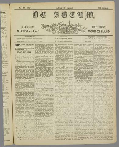 De Zeeuw. Christelijk-historisch nieuwsblad voor Zeeland 1897-09-18