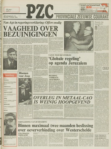 Provinciale Zeeuwse Courant 1978-01-17