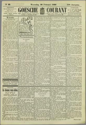 Goessche Courant 1929-02-20
