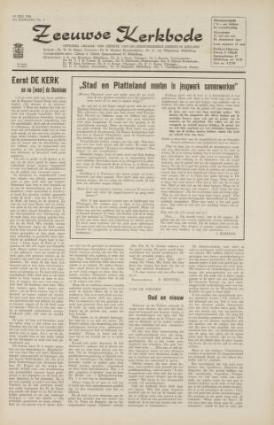 Zeeuwsche kerkbode, weekblad gewijd aan de belangen der gereformeerde kerken/ Zeeuwsch kerkblad 1966-07-14