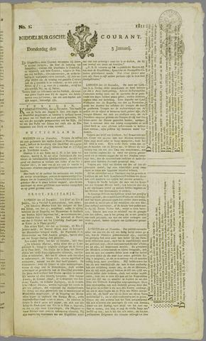 Middelburgsche Courant 1811-01-03