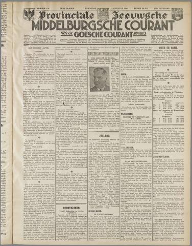 Middelburgsche Courant 1934-08-01
