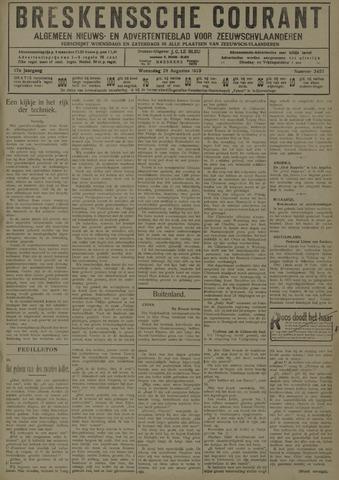 Breskensche Courant 1929-08-28