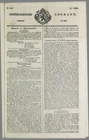 Zierikzeesche Courant 1844-05-31