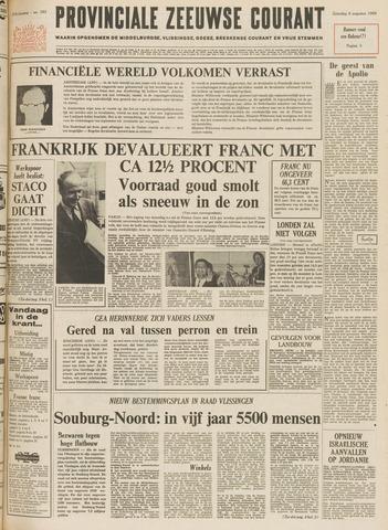 Provinciale Zeeuwse Courant 1969-08-09