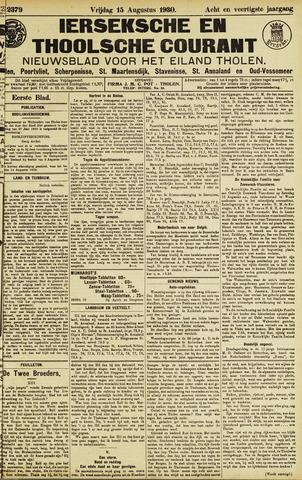Ierseksche en Thoolsche Courant 1930-08-15