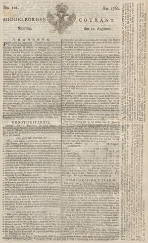 Middelburgsche Courant 1762-08-21