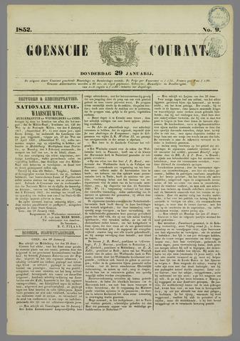 Goessche Courant 1852-01-29