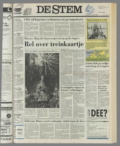 de Stem 1992-04-13