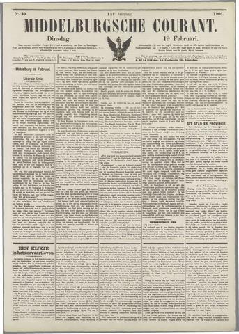Middelburgsche Courant 1901-02-19