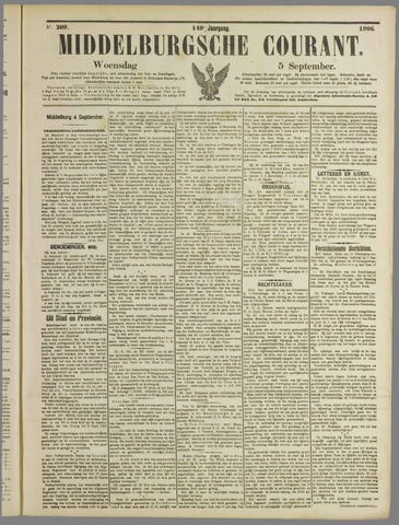 Middelburgsche Courant 1906-09-05