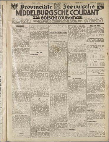 Middelburgsche Courant 1933-01-09