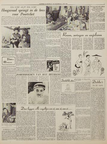 Watersnood documentatie 1953 - kranten 1953-05-21