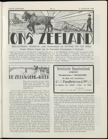 Ons Zeeland / Zeeuwsche editie 1928-02-25