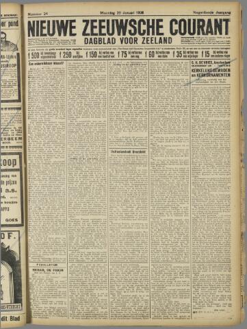 Nieuwe Zeeuwsche Courant 1923-01-29