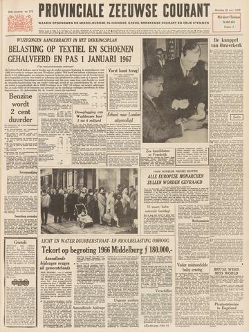 Provinciale Zeeuwse Courant 1965-11-20