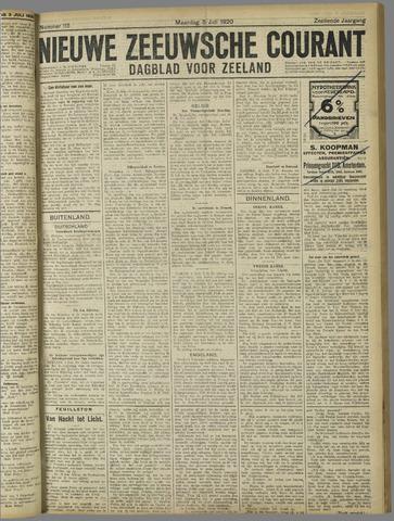Nieuwe Zeeuwsche Courant 1920-07-05
