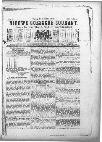 Nieuwe Goessche Courant 1876-11-21