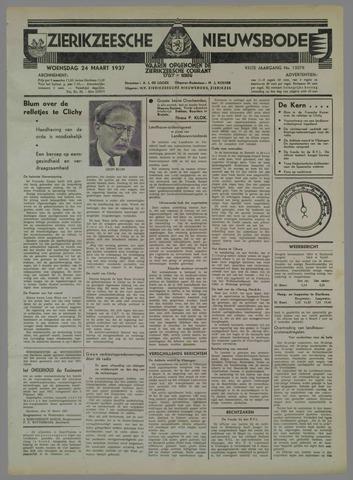 Zierikzeesche Nieuwsbode 1937-03-24