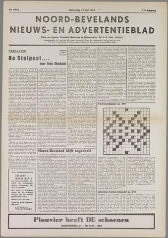 Noord-Bevelands Nieuws- en advertentieblad 1974-06-13