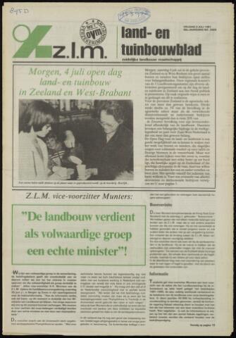 Zeeuwsch landbouwblad ... ZLM land- en tuinbouwblad 1981-07-03