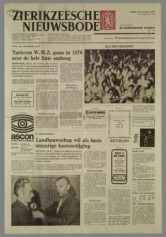 Zierikzeesche Nieuwsbode 1975-11-21