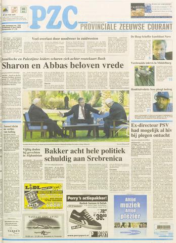 Provinciale Zeeuwse Courant 2003-06-05