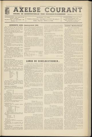 Axelsche Courant 1962-02-03