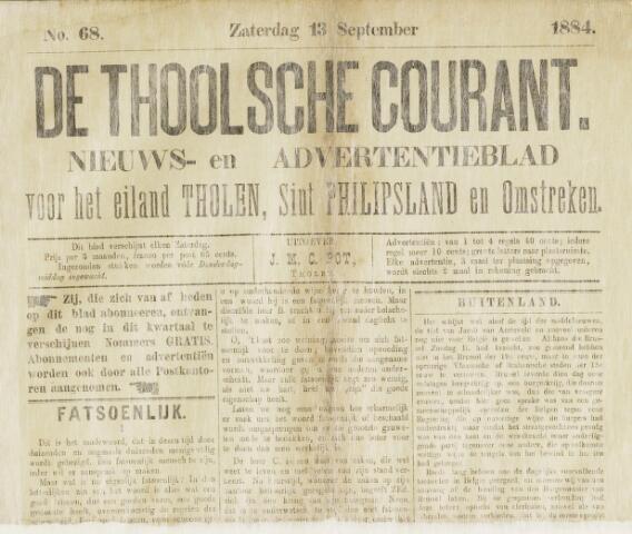 Ierseksche en Thoolsche Courant 1884-09-13
