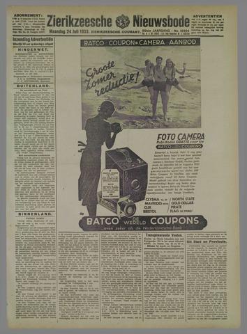 Zierikzeesche Nieuwsbode 1933-07-24
