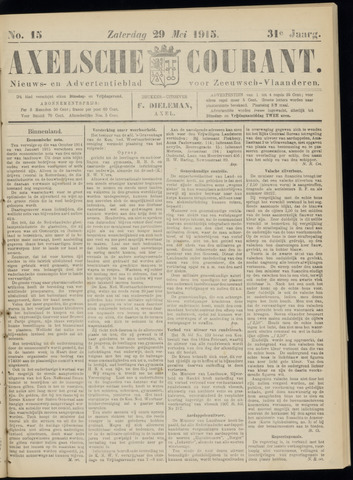 Axelsche Courant 1915-05-29