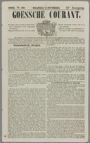 Goessche Courant 1864-11-21