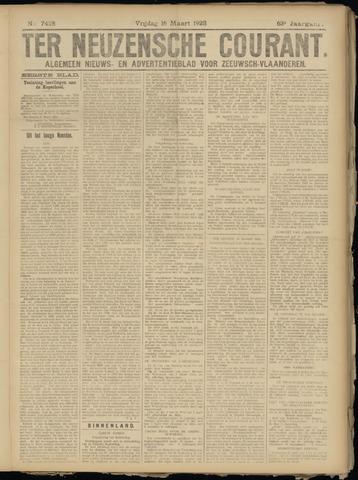 Ter Neuzensche Courant. Algemeen Nieuws- en Advertentieblad voor Zeeuwsch-Vlaanderen / Neuzensche Courant ... (idem) / (Algemeen) nieuws en advertentieblad voor Zeeuwsch-Vlaanderen 1923-03-16