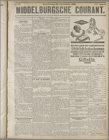 Middelburgsche Courant 1921-11-24