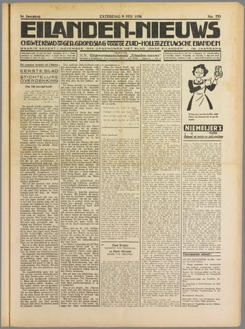 Eilanden-nieuws. Christelijk streekblad op gereformeerde grondslag 1936-05-09