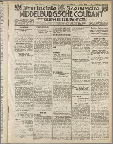 Middelburgsche Courant 1935-01-09
