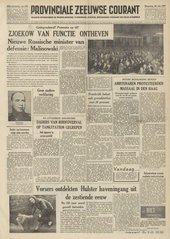 Provinciale Zeeuwse Courant 1957-10-28